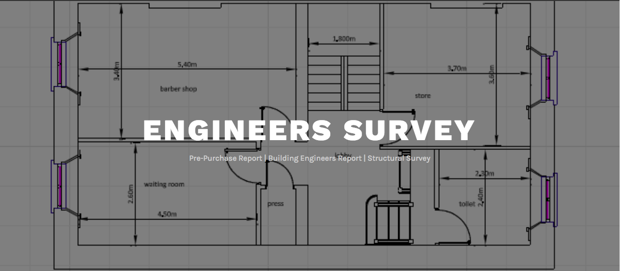 Engineers Survey Pre-Purchase Report | Building Engineers Report, Structural Survey